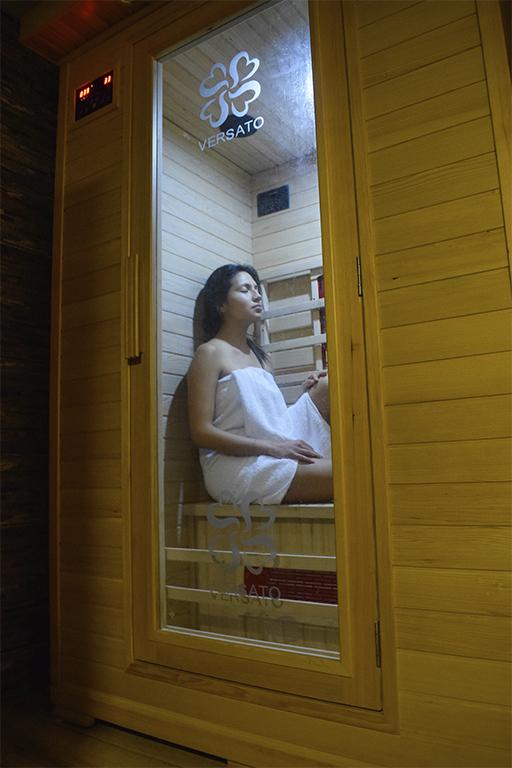 Sauna infrarrojo